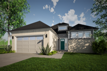 Front Exterior Rendering of the Broncho House